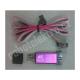 Programátor Atmel AVR, USB-ASP, hliníková krabička - fialová