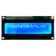 LCD displej 16x02, modré podsvícení