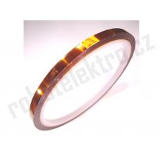 Kaptonová izolační páska 5mm/30m